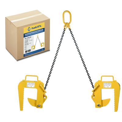 Concrete pipe clamps in a bag