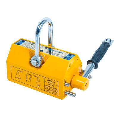 Magnetic lifting clamps