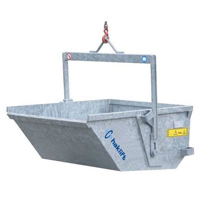 Hot dip galvanized Liftable self dumping bins