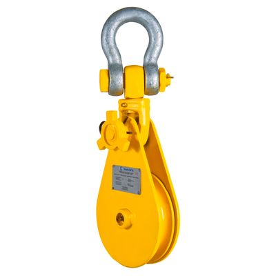 Snatch Block with shackle 4 - 22 t