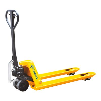 Hand pallet truck 2500 kg with mechanical assistance