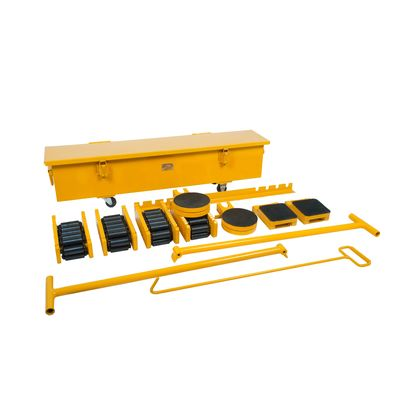 Cargo trolley sets with steel rolls