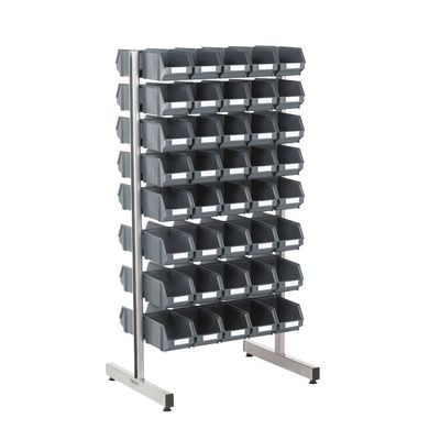 Two-sided storage stand