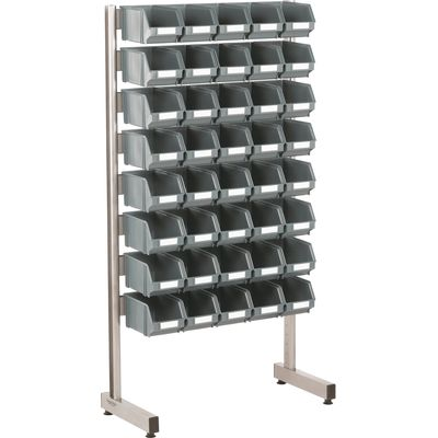 One-sided storage stand