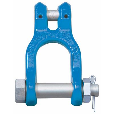 Clevis Shackle X-066, painted grade 100 shackle